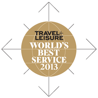 Travel + Leisure World's Best Service